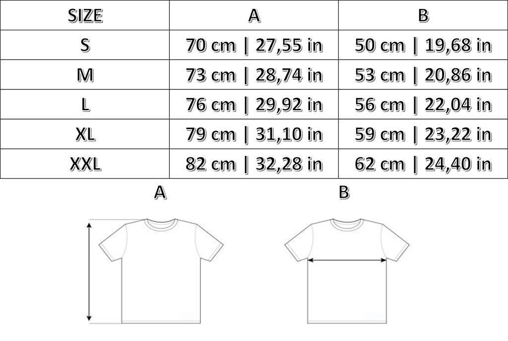 Taglie T-shirts St Pauli