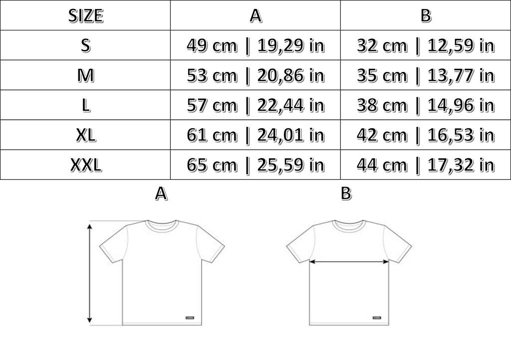 Taglie T-Shirts Bambino Copa Football
